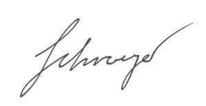 Unterschrift Bernadette Schroeger