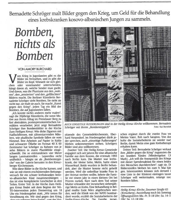 Installation: Bomben
